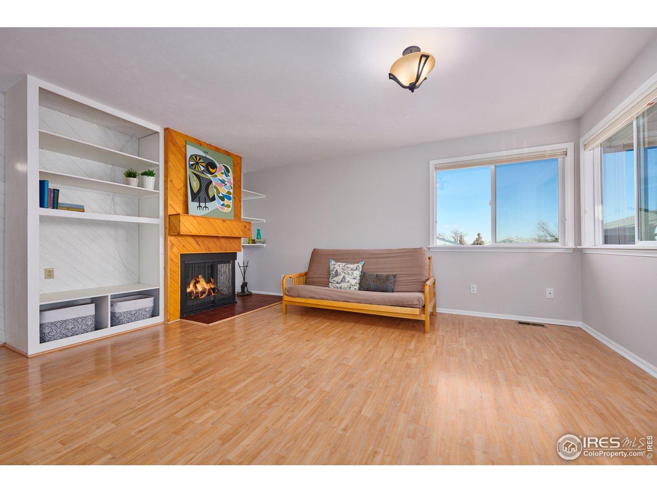Updated laminate flooring