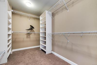 Large Master Walk-in Closet