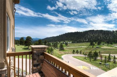 Unobstructed Mountain Views From Redwood Deck