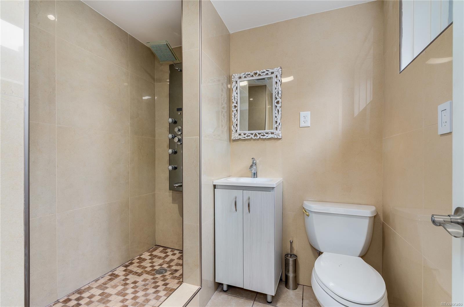 Remodeled Basement Bath