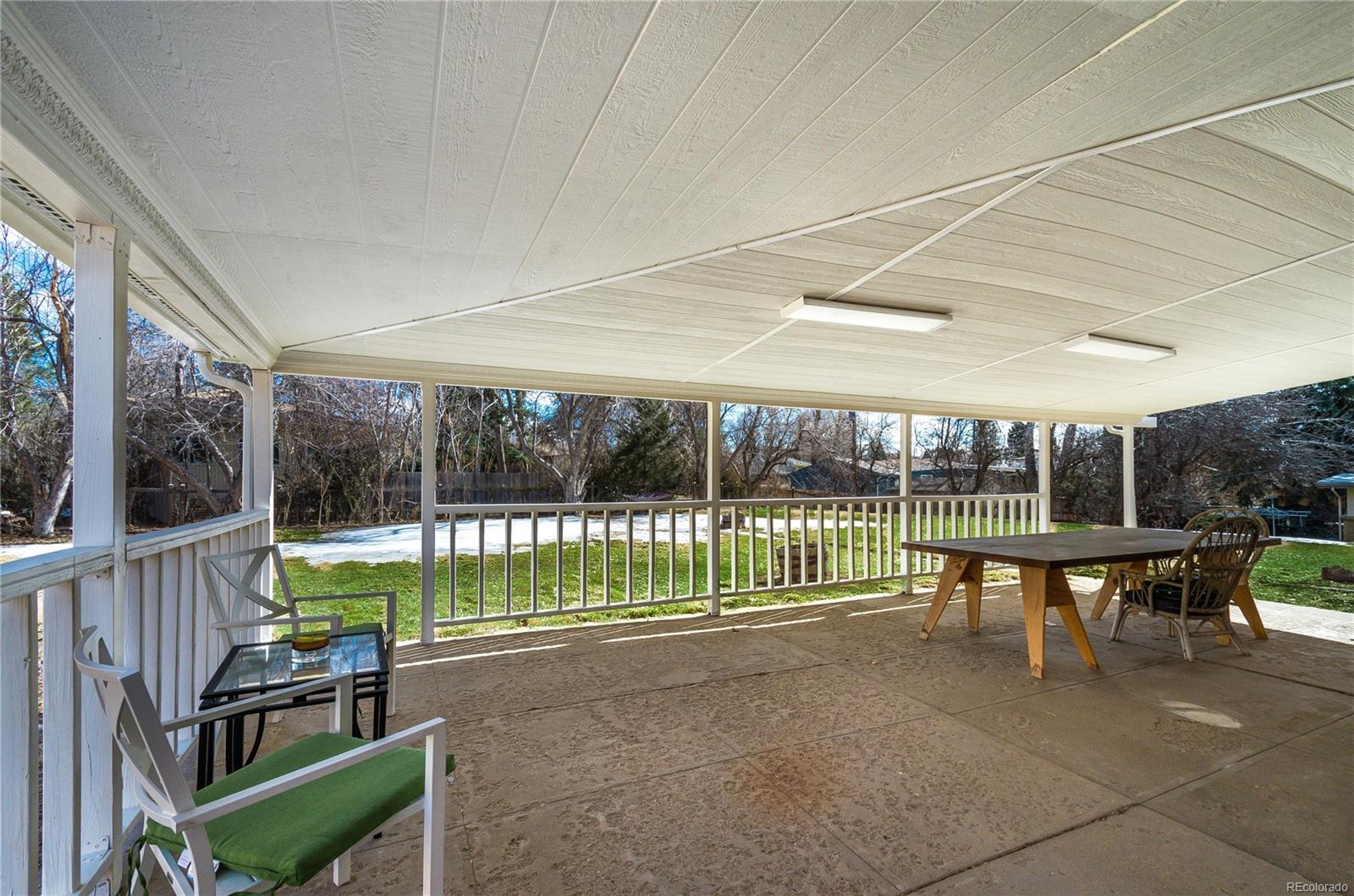 Massive Backyard Covered Patio