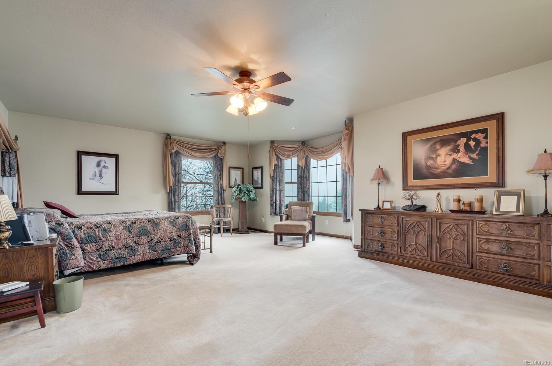 Spacious Master Suite with Mountain Views