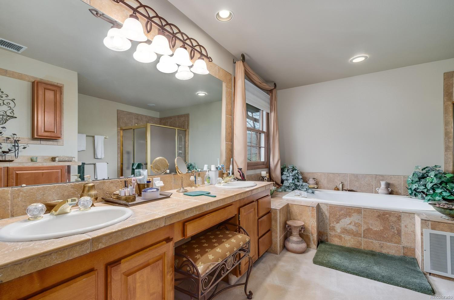 5-piece bath adds extra luxury to master suite