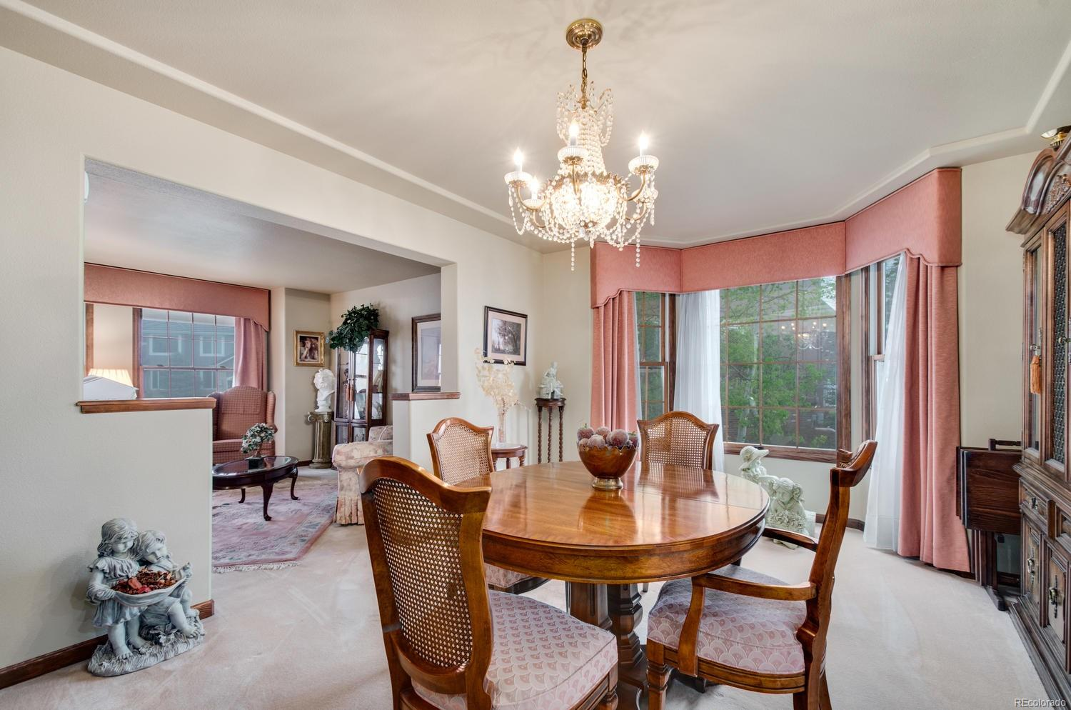 Open and Bright Dining Room