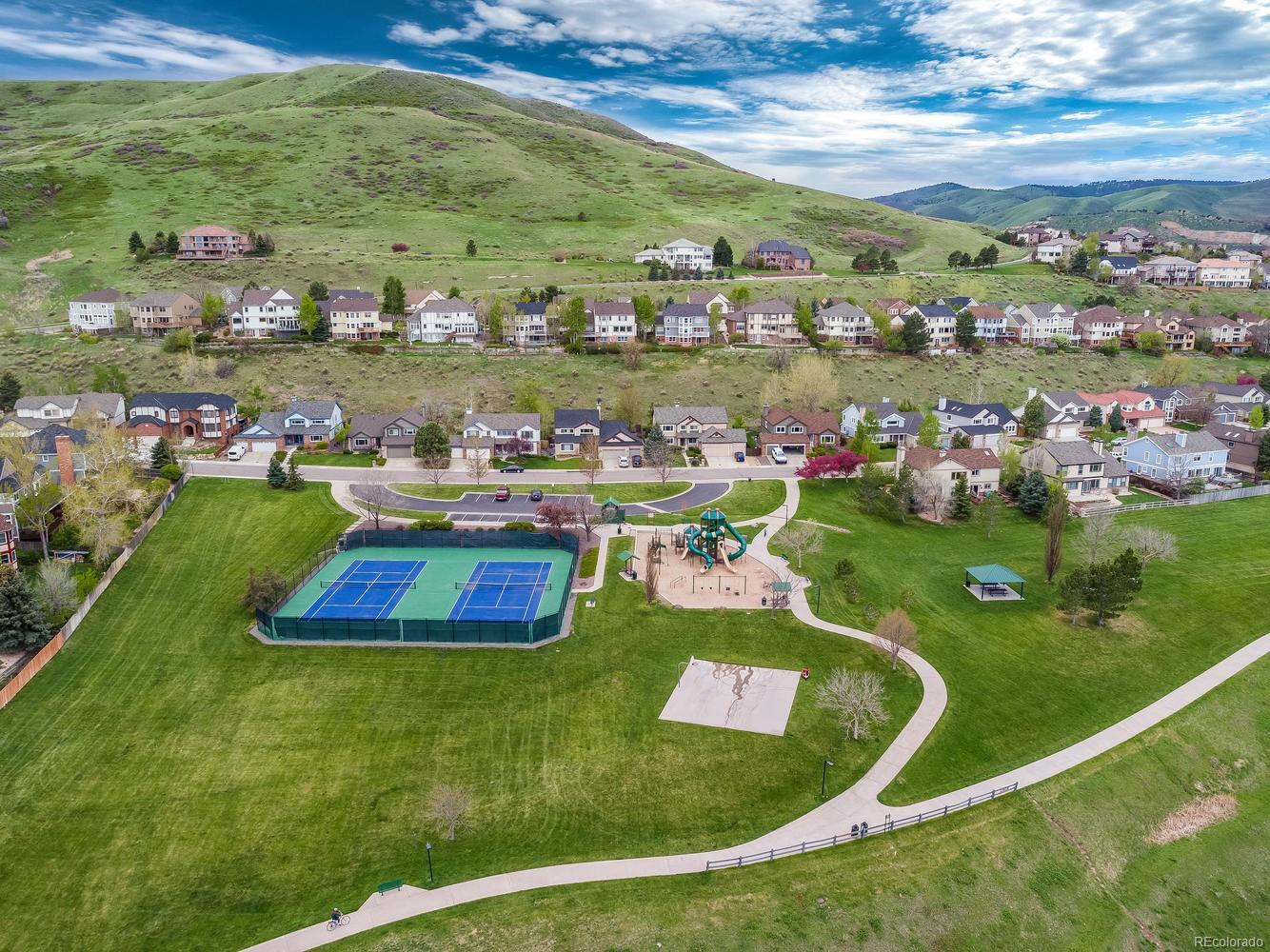 Walking Distance to Park Tennis Courts and Playground
