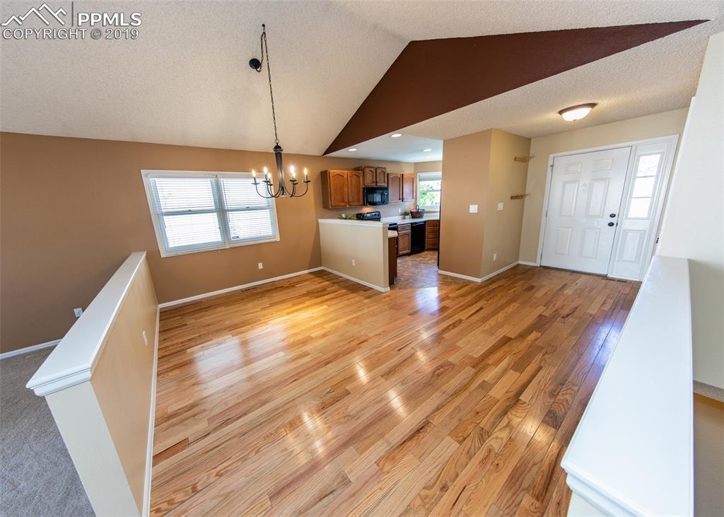 Beautiful hardwood floor in Dinning Room