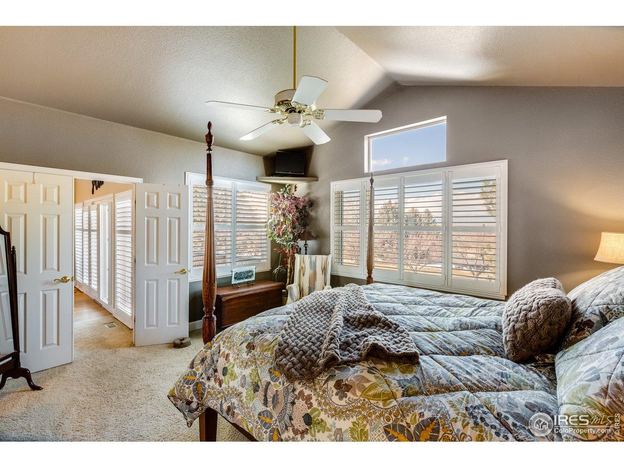 Master Bedroom - Beautiful View