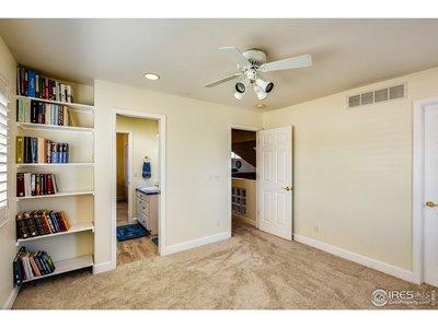 Upstairs Bedroom w/Walk-In Closet