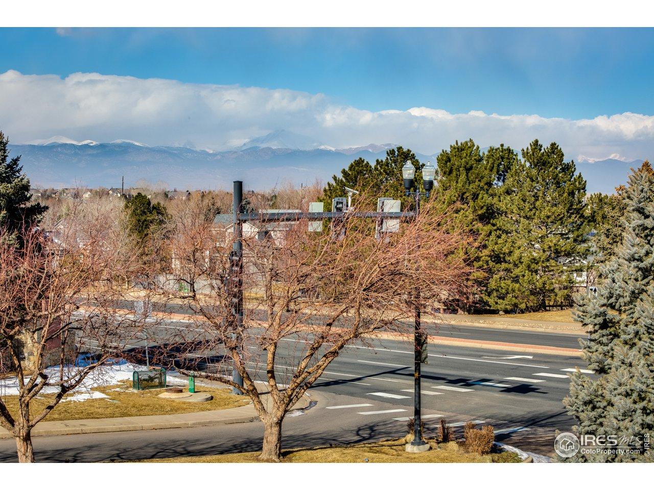 Mountain & Flatiron Views