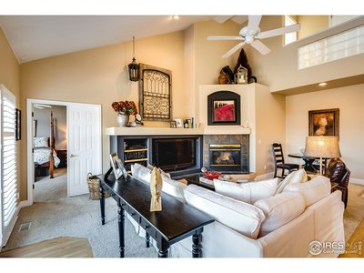 Family Room - High Vaulted Ceilings