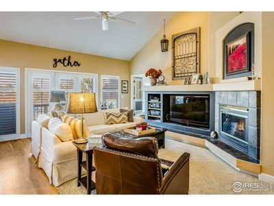 Family Room - Space for Big Screen TV
