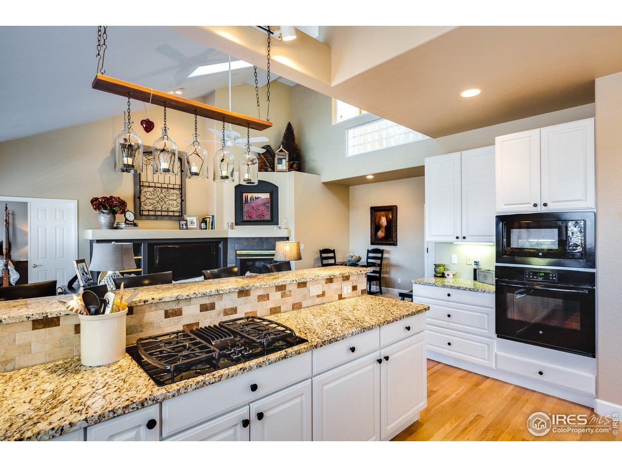 Kitchen open to Family Romm