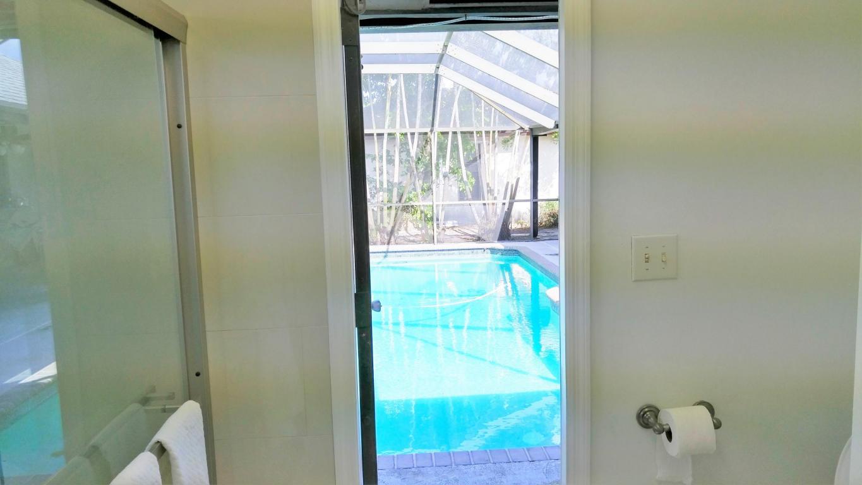 Bathroom door out