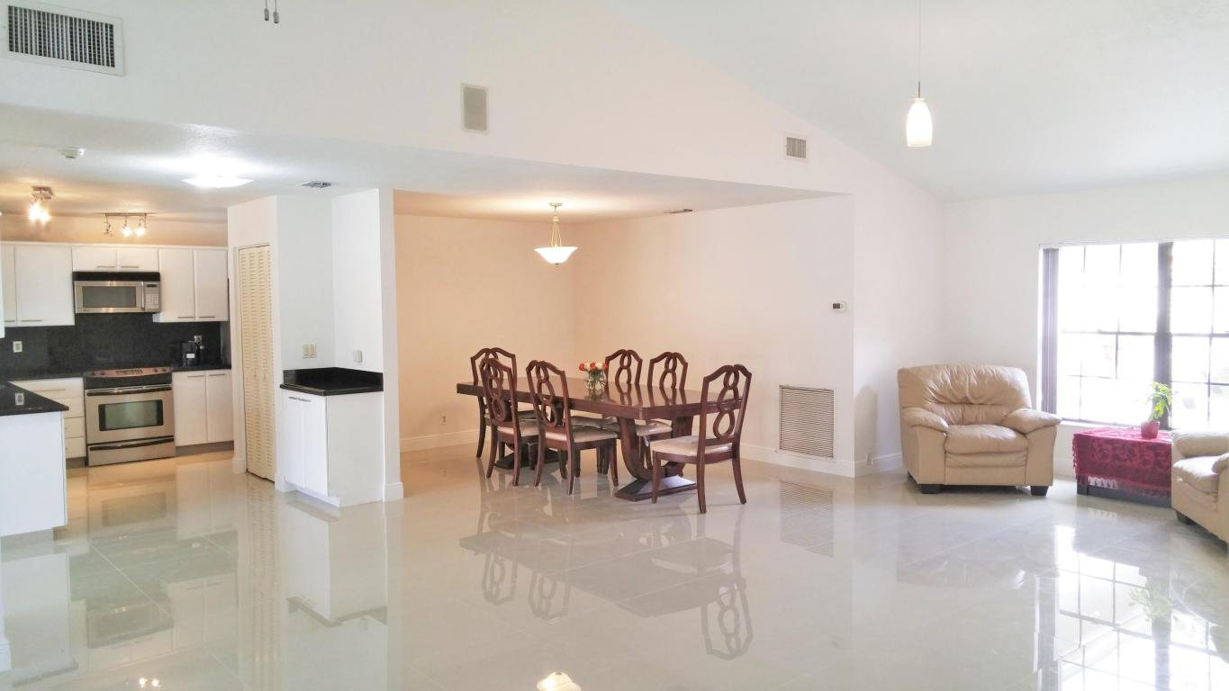 Family to Dining and Kitchen