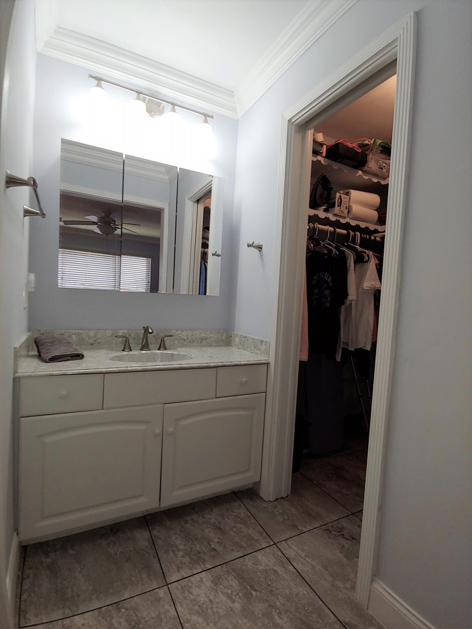 Master Vanity & Walk-in Closet