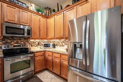 Beautifully remodeled kitchen with grani
