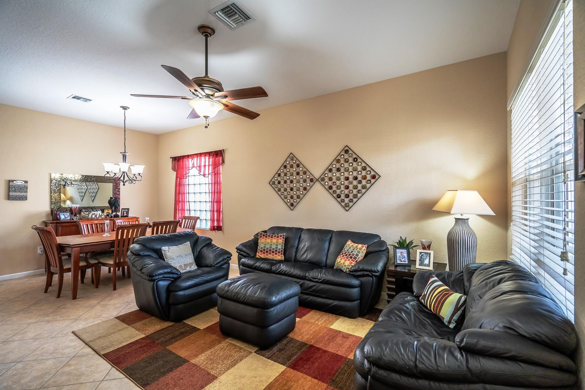 Formal living room and dining area (1)