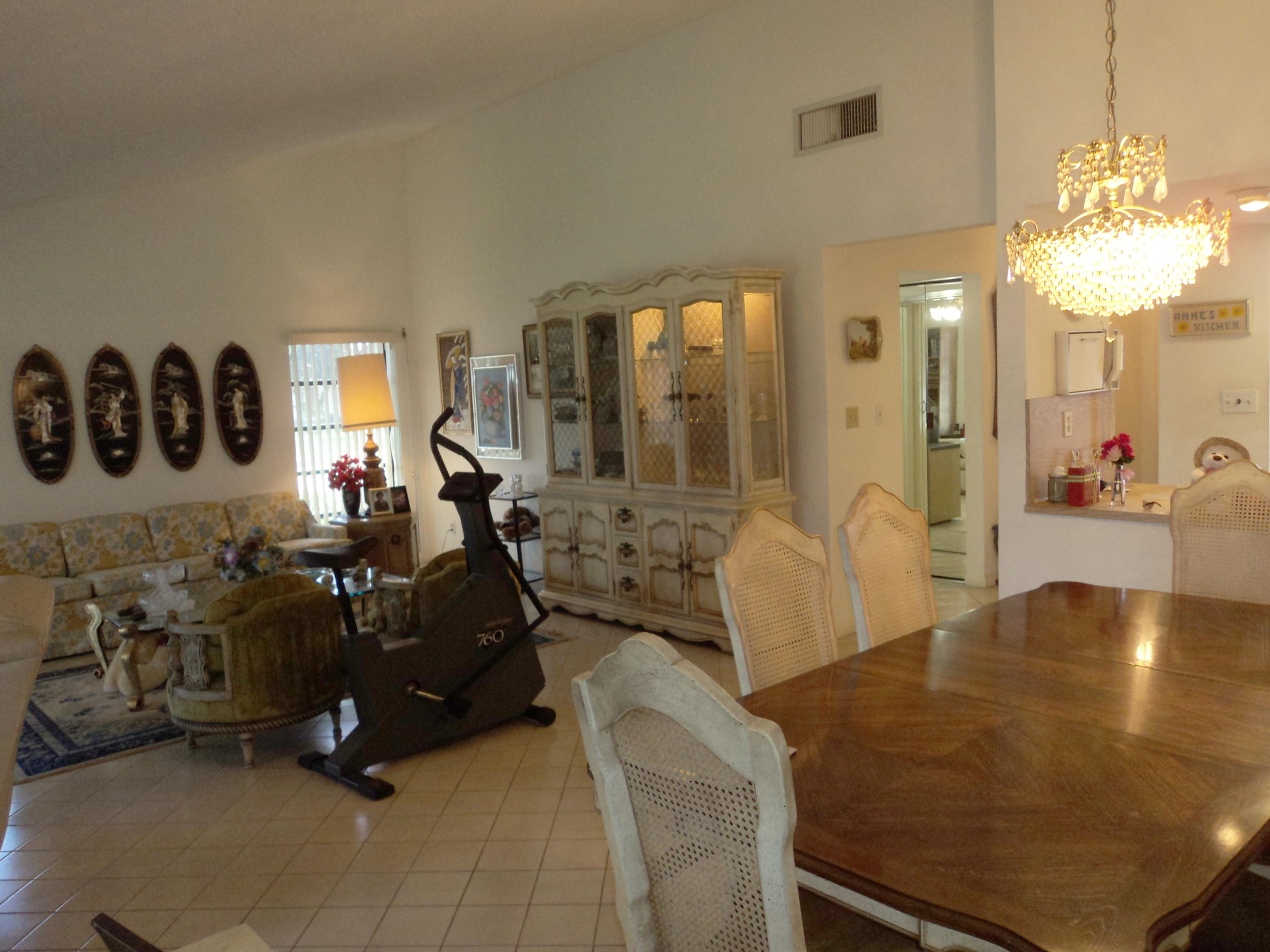 Dining & Living Areas