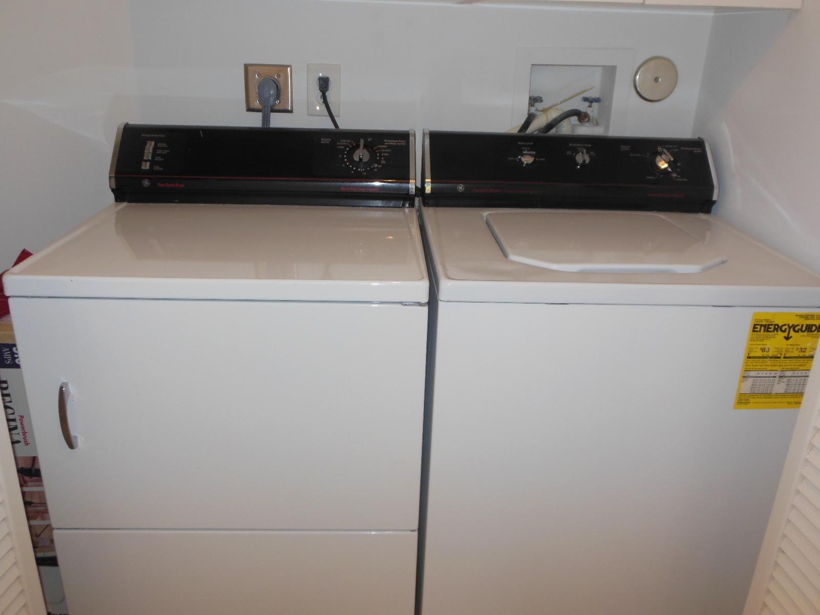 Inside Washer/Dryer