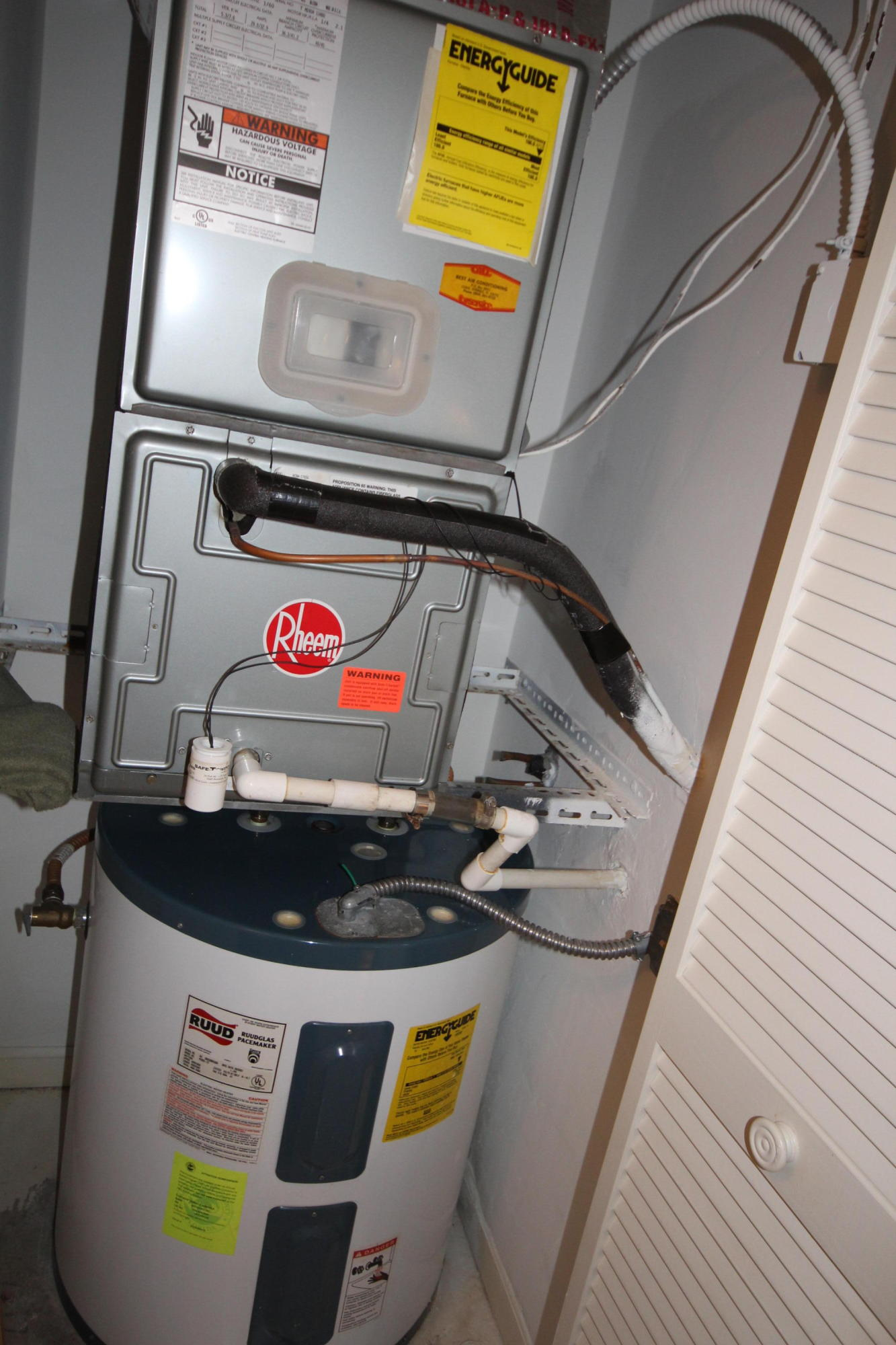 AC & HOT WATER HEATER