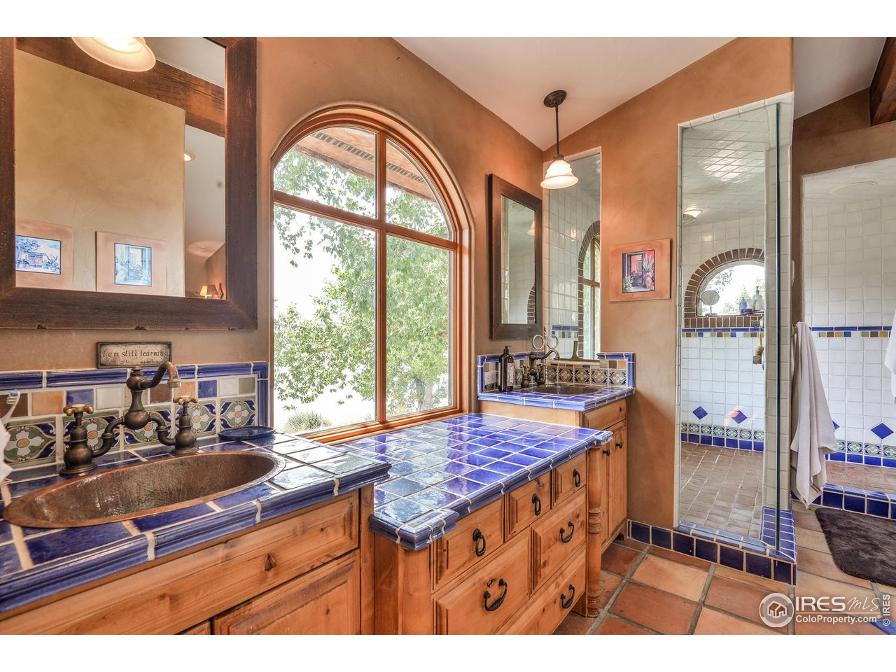 Master bath fits the style