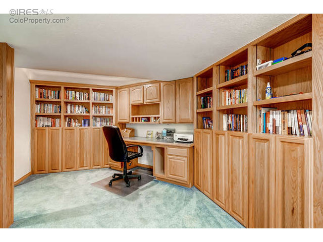 Office area in Basement