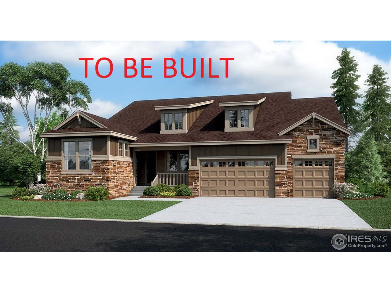 To be built 12/31/18. Not actual home.
