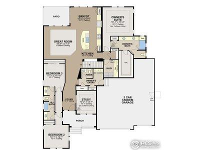 Bandelier floor plan