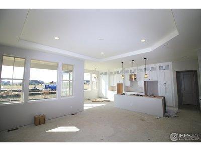 Great room/kitchen under construction