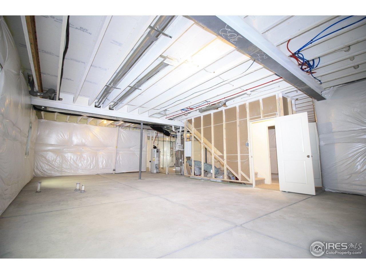 Huge basement