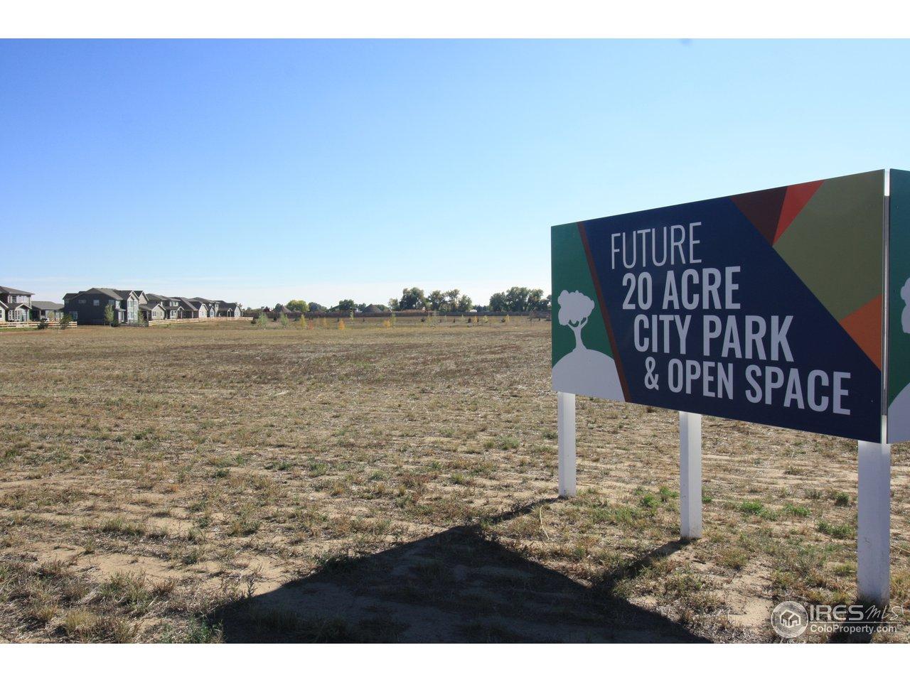 20 acre park planned