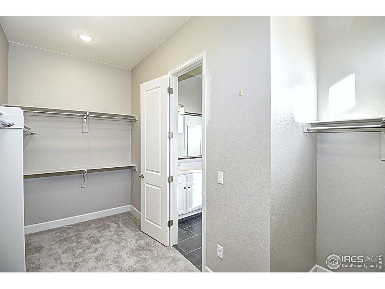 Very large master closet