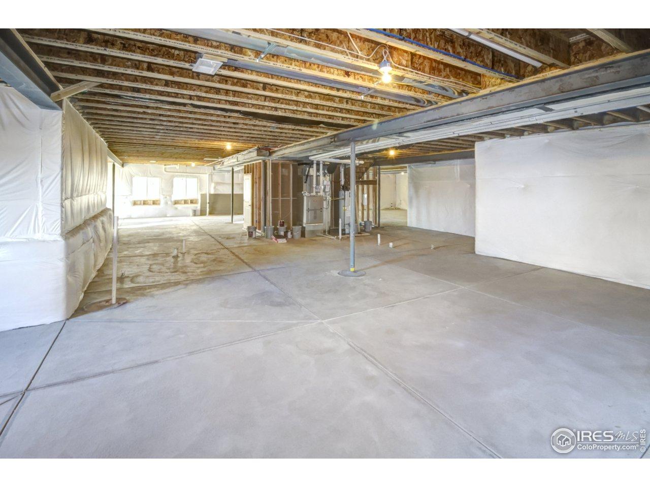 Massive daylight basement (1/3 of it!)