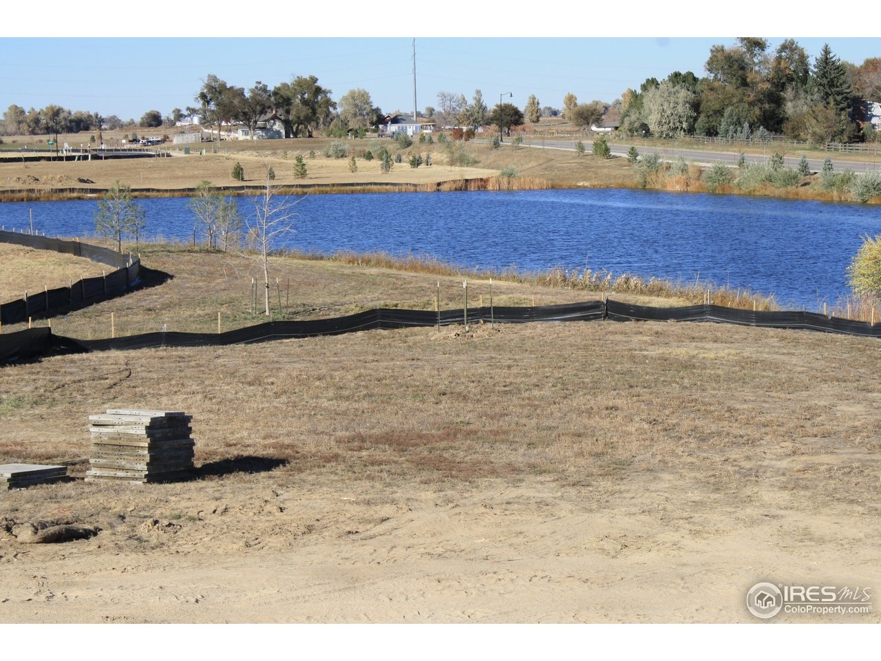 Massive lot backing to picturesque pond