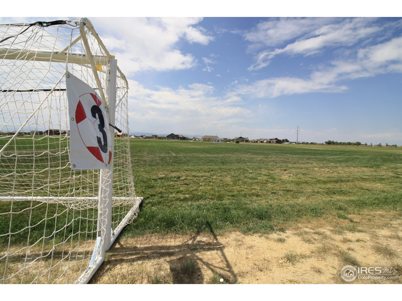 Soccer fields adjacent to Wildwing property