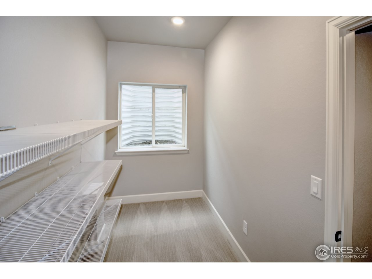 Large basement closet