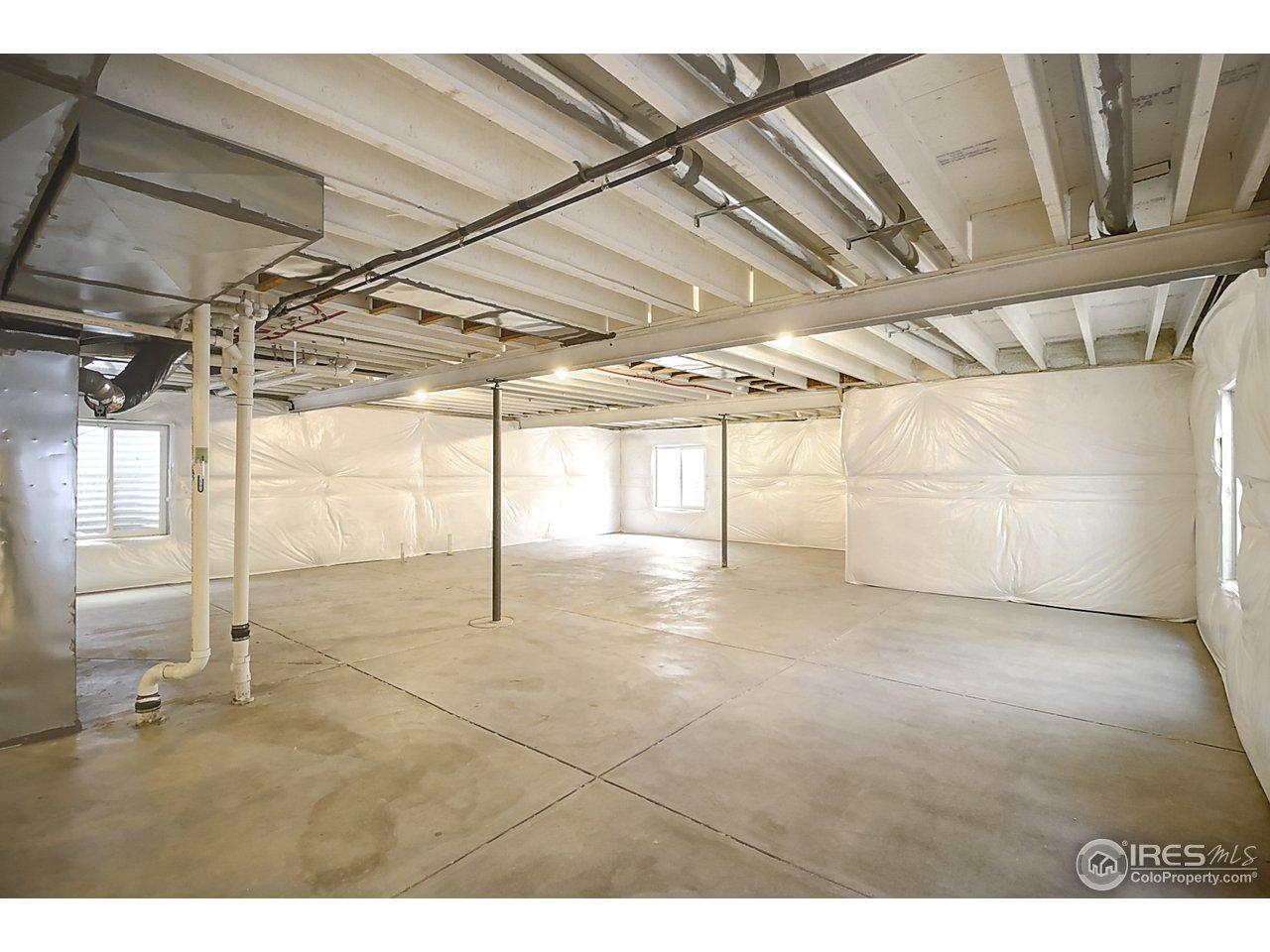 Huge full basement