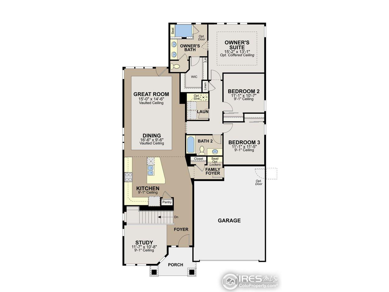 Allure floor plan