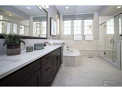Huge master bathroom