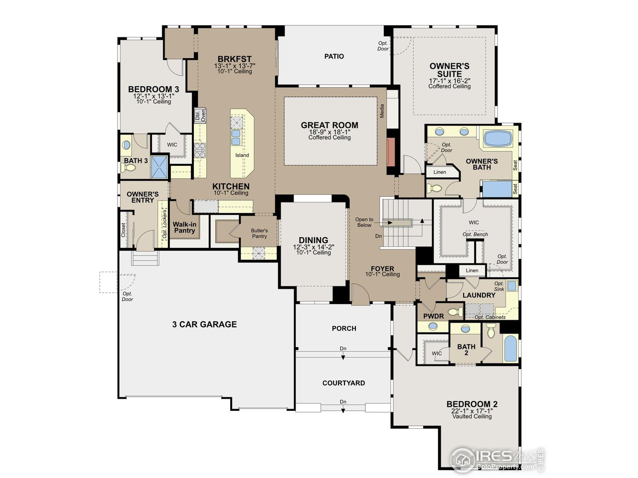Teton floor plan