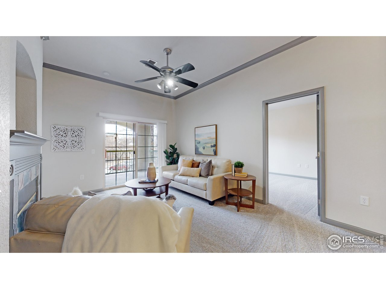Vaulted ceilings throughout unit