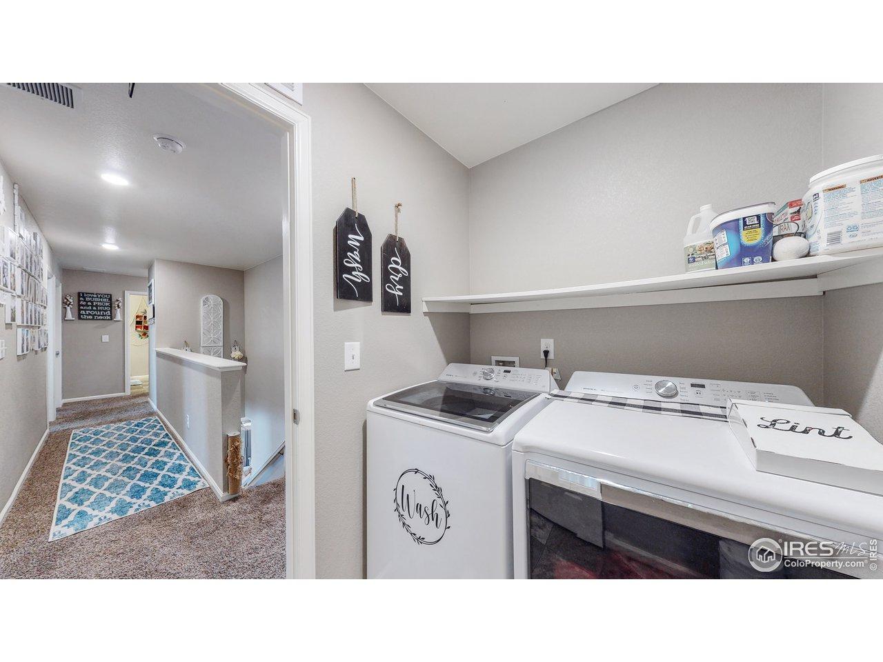 Laundry - upper level