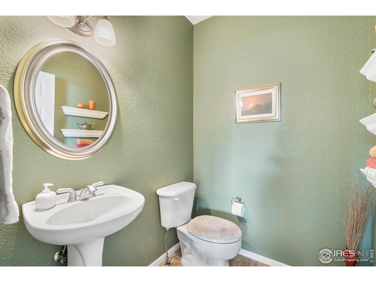 Hall Bath - Main Level