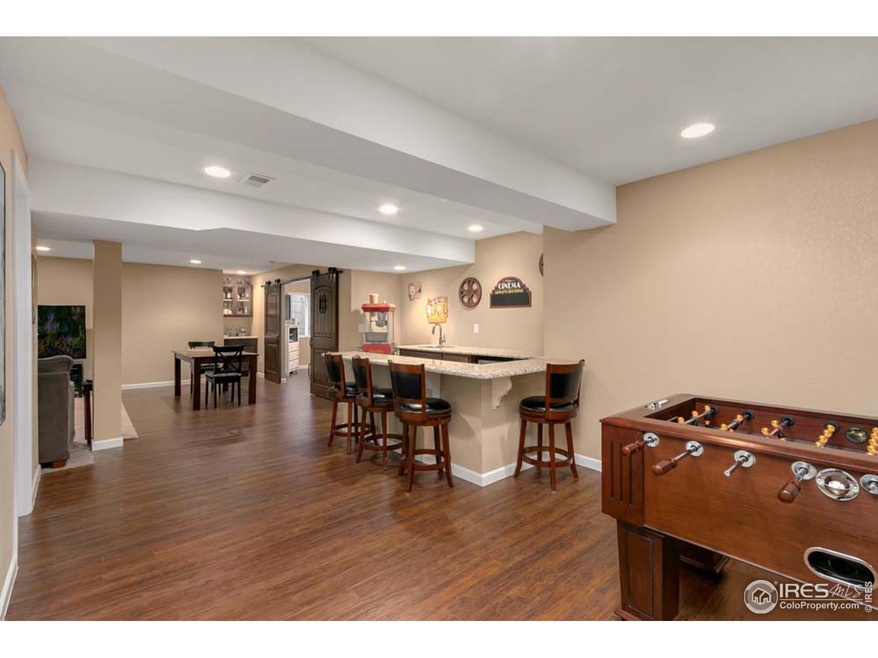Full finished basement
