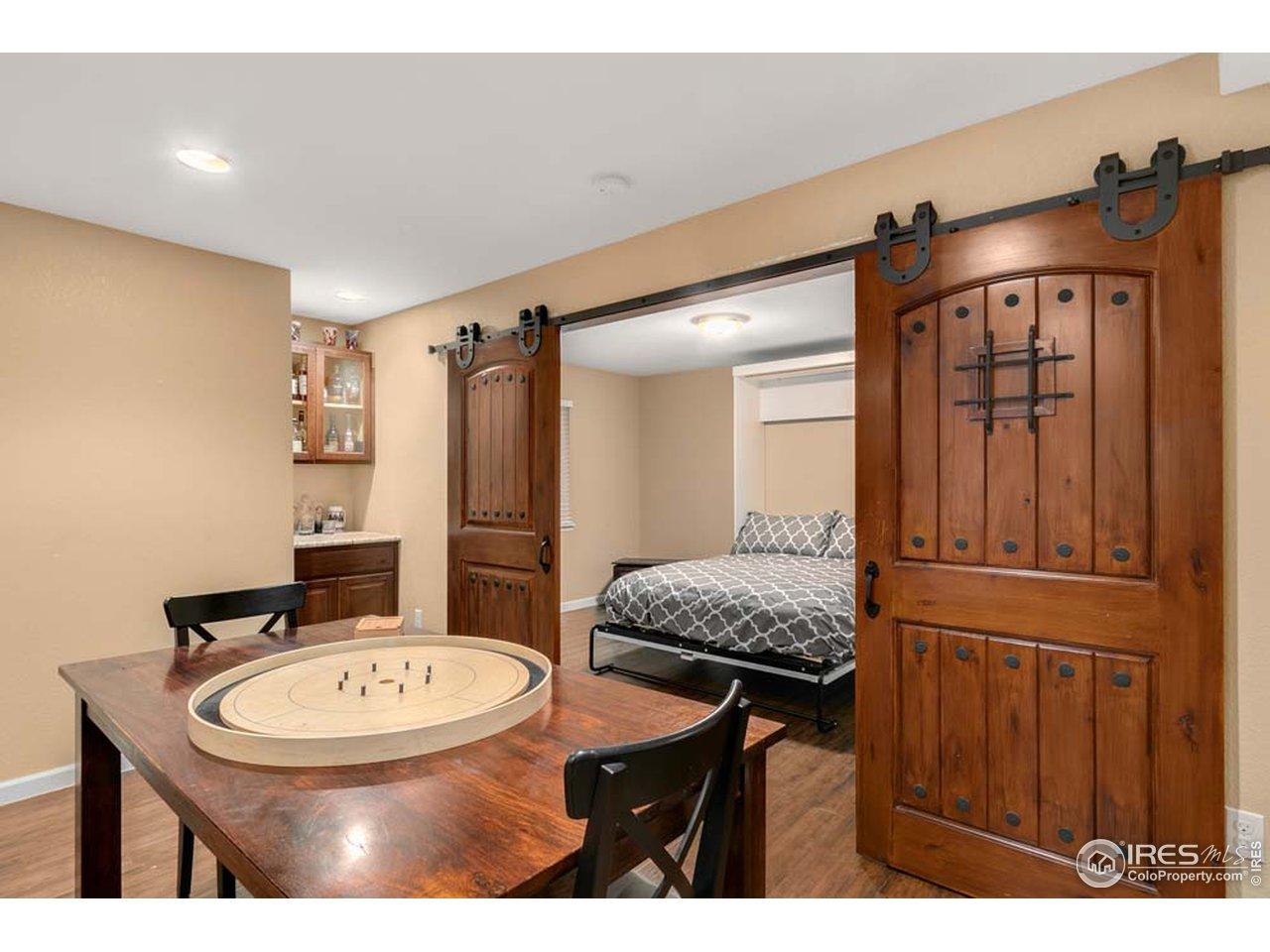 5th bedroom or flex room
