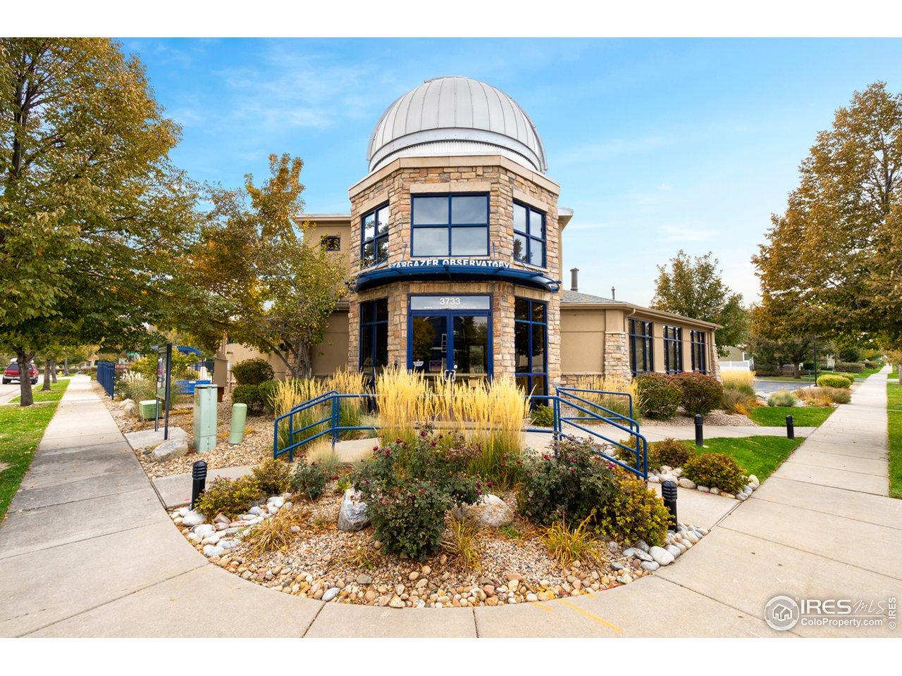 Neighborhood observatory and pool