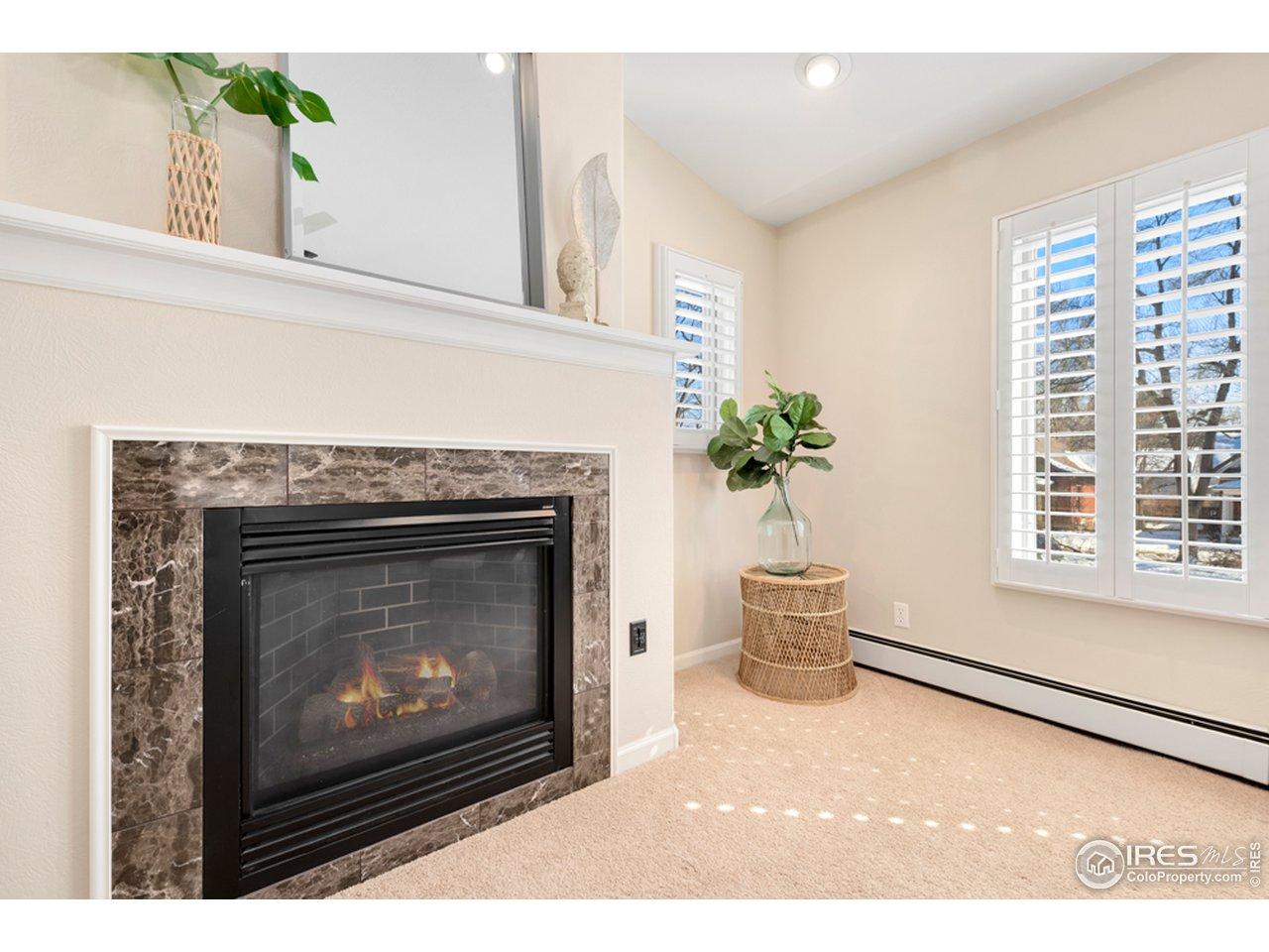 Fireplace in Master Bedroom