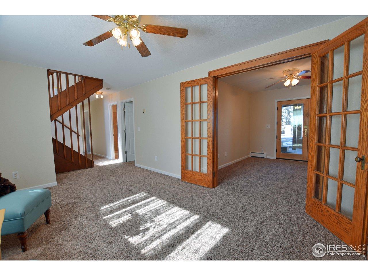 Rear lower level bedroom