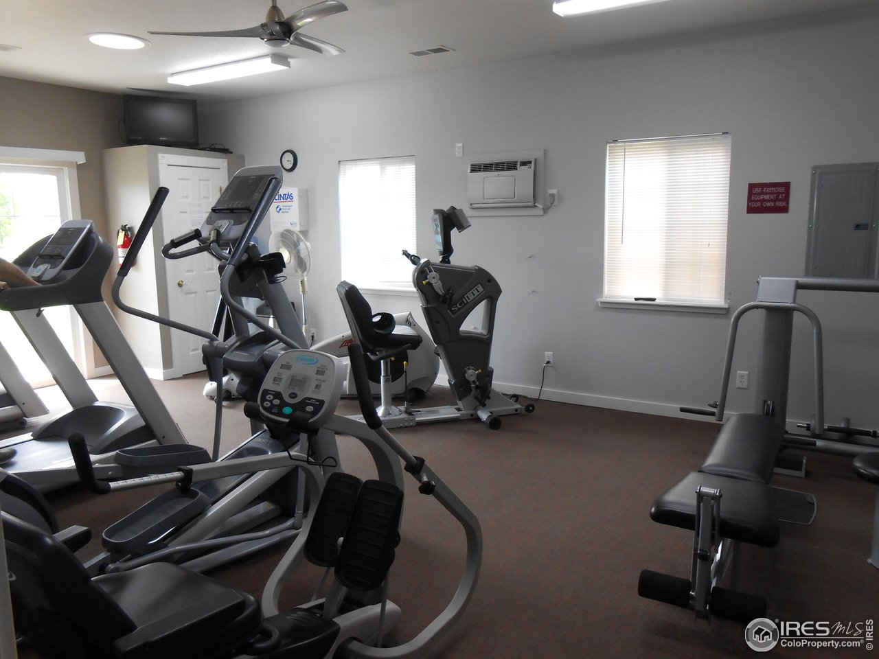 Clubhouse Excersize Room