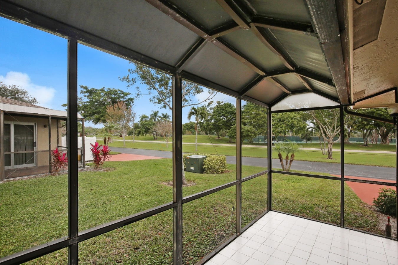 Covered Screened In Patio